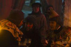 Jared Harris as Francis Crozier, Paul Ready as Dr. Henry Goodsir; group- The Terror _ Season 1, Episode 6 - Photo Credit: Aidan Monaghan/AMC