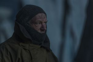 BTS, Jared Harris as Francis Crozier - The Terror _ Season 1, Episode 6 - Photo Credit: Aidan Monaghan/AMC