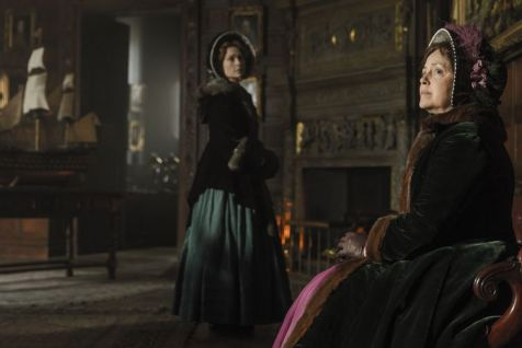 Greta Scacchi as Lady Jane Franklin, Sian Brooke as Sophia Craycroft; group - The Terror _ Season 1, Episode 4 - Photo Credit: Aidan Monaghan/AMC