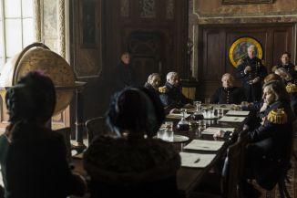 Greta Scacchi as Lady Jane Franklin, Sian Brooke as Sophia Craycroft; group- The Terror _ Season 1, Episode 4 - Photo Credit: Aidan Monaghan/AMC