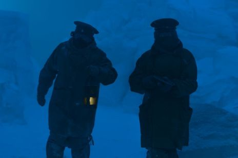 BTS, Jared Harris as Francis Crozier- The Terror _ Season 1, Episode 4 - Photo Credit: Aidan Monaghan/AMC