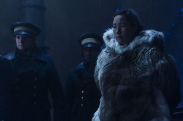 Nive Nielsen as Lady Silence; group- The Terror _ Season 1, Episode 4 - Photo Credit: Aidan Monaghan/AMC