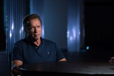 Arnold Schwarzenegger - Story of Science Fiction _ Season 1 - Photo Credit: Michael Moriatis/AMC