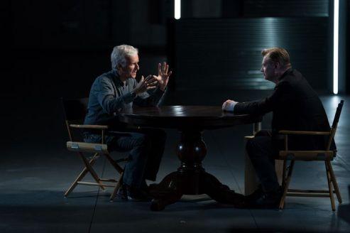 Christopher Nolan, James Cameron - Story of Science Fiction _ Season 1 - Photo Credit: Michael Moriatis/AMC