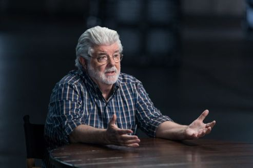 George Lucas; single - Story of Science Fiction _ Season 1 - Photo Credit: Michael Moriatis/AMC