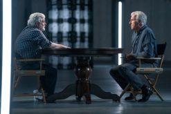 George Lucas, James Cameron; group - Story of Science Fiction _ Season 1 - Photo Credit: Michael Moriatis/AMC