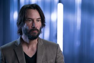 Keanu Reeves - Story of Science Fiction _ Season 1 - Photo Credit: Michael Moriatis/AMC