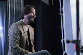 Keanu Reeves - James Cameron's Story of Science Fiction _ Season 1 - Photo Credit: Michael Moriatis/AMC