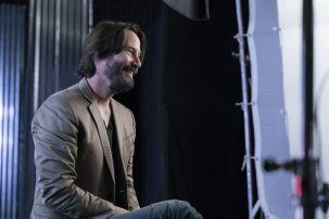 Keanu Reeves - James Cameron's Story of Science Fiction _ Season 1 - Photo Credit: Michael Moriatis/AMC