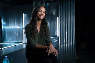 Zoe Saldana - Story of Science Fiction _ Season 1 - Photo Credit: Michael Moriatis/AMC