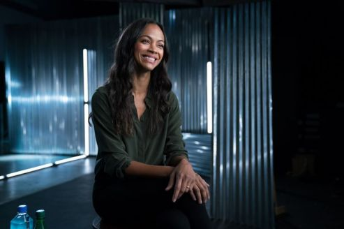 Zoe Saldana - Story of Science Fiction _ Season 1 - Photo Credit: Michael Moriatis/AMC