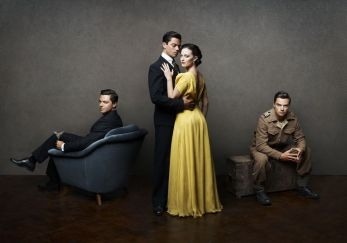 Picture shows: Ian Fleming (DOMINIC COOPER) Ann Oâ™Neill (LARA PULVER)