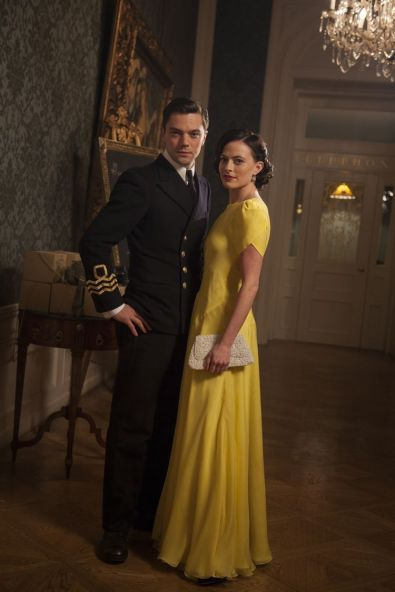 Picture shows: Ian Fleming (DOMINIC COOPER) and Ann Oâ™Neill (LARA PULVER)