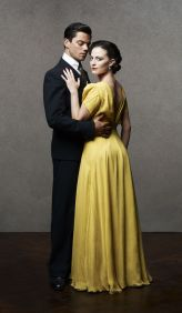 Picture shows: Ian Fleming (DOMINIC COOPER) Ann O'Neill (LARA PULVER)