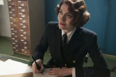 Picture shows: Second Officer Monday (ANNA CHANCELLOR)