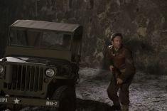 Picture shows: Sergeant Dixon (DEAN LENNOX KELLY) at Tambach