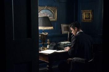 Picture shows: Ian Fleming (DOMINIC COOPER)