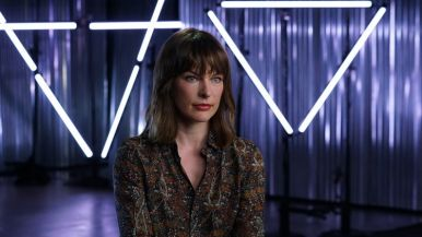 Milla Jovovich - Story of Science Fiction _ Season 1, Episode 2 - Photo Credit: Peter Iovino/AMC