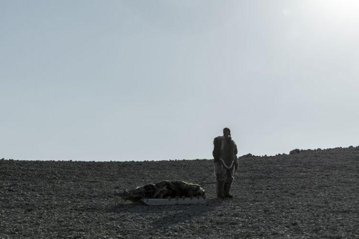 Nive Nielsen as Lady Silence; group - The Terror _ Season 1, Episode 10 - Photo Credit: Aidan Monaghan/AMC