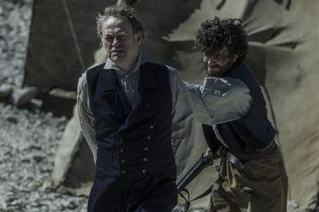 Jared Harris as Francis Crozier; group - The Terror _ Season 1, Episode 10 - Photo Credit: Aidan Monaghan/AMC