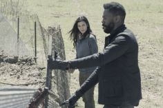 Colman Domingo as Victor Strand, Danay Garcia as Luciana- Fear the Walking Dead _ Season 4, Episode 9 - Photo Credit: Ryan Green/AMC