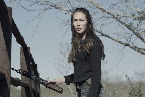 Alycia Debnam-Carey as Alicia Clark- Fear the Walking Dead _ Season 4, Episode 9 - Photo Credit: Ryan Green/AMC