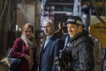 Laura (Katherine Parkinson) and Neil (Mark Bonnar)