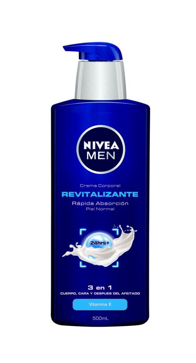 NIVEA MEN Revitalizante 3 en 1: Elimina el cansancio de tu rostro