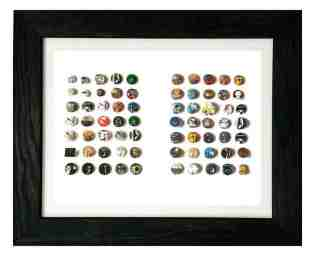Bauhaus pin collection - photo by Kevin Haskins
