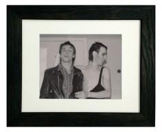 Peter Murphy & Iggy Pop print