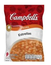 Sopa Estrellas