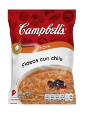 Sopa Fídeos con chile