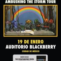 Primus: Ambushing The Storm Tour, 19 De Enero 2019 Auditorio Black Berry
