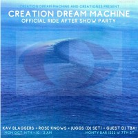 Creation Dream Machine: RIDE After Party con JUGGS, Kav Blaggers (Blitz Vega) y Rose Knows (Lethal Amounts)