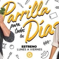 El Gourmet: Felicitas Pizarro y Christian Petersen unen fuerzas para buscar soluciones a cuestiones cotidianas en Parrilla Para Todos Los Días, estreno lunes 2 de agosto a las 21:30 horas
